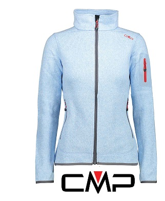 Woman Fix Hood Jacket azzurro - 3H14746