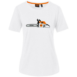 T-shirt chainsaw