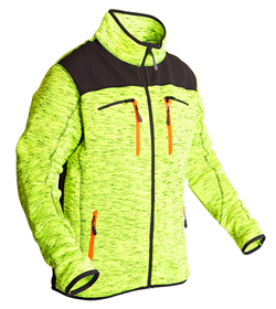 Protos Inuit Herrenjacke neon-yellow-melange