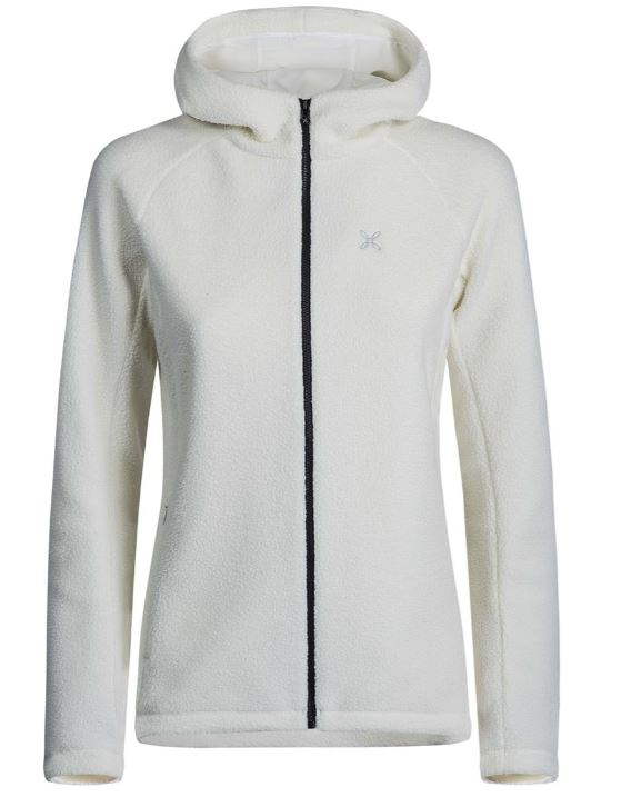 One fleece hoody jacket woman